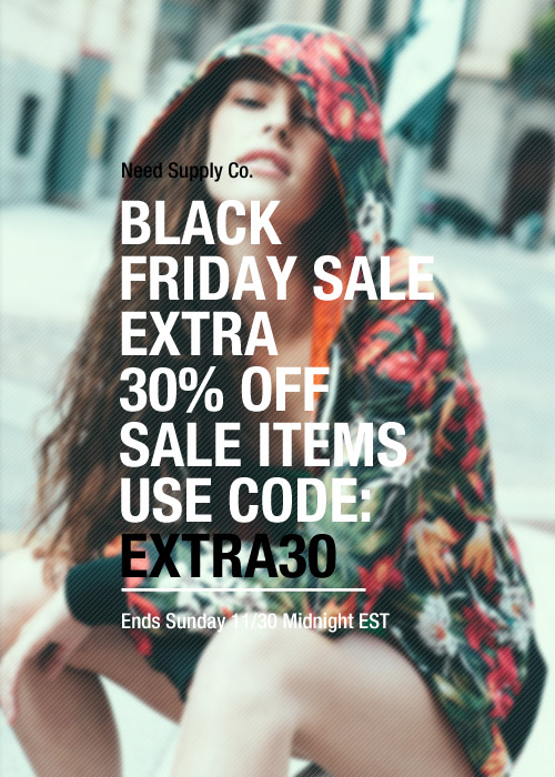 Need Supply Co. Black Friday Coupon Code 2014