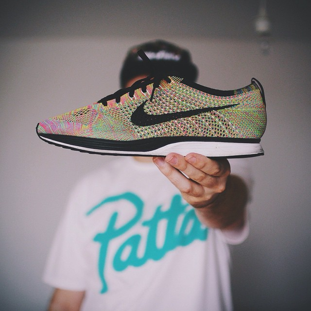 Nike Flyknit Racer Up Close