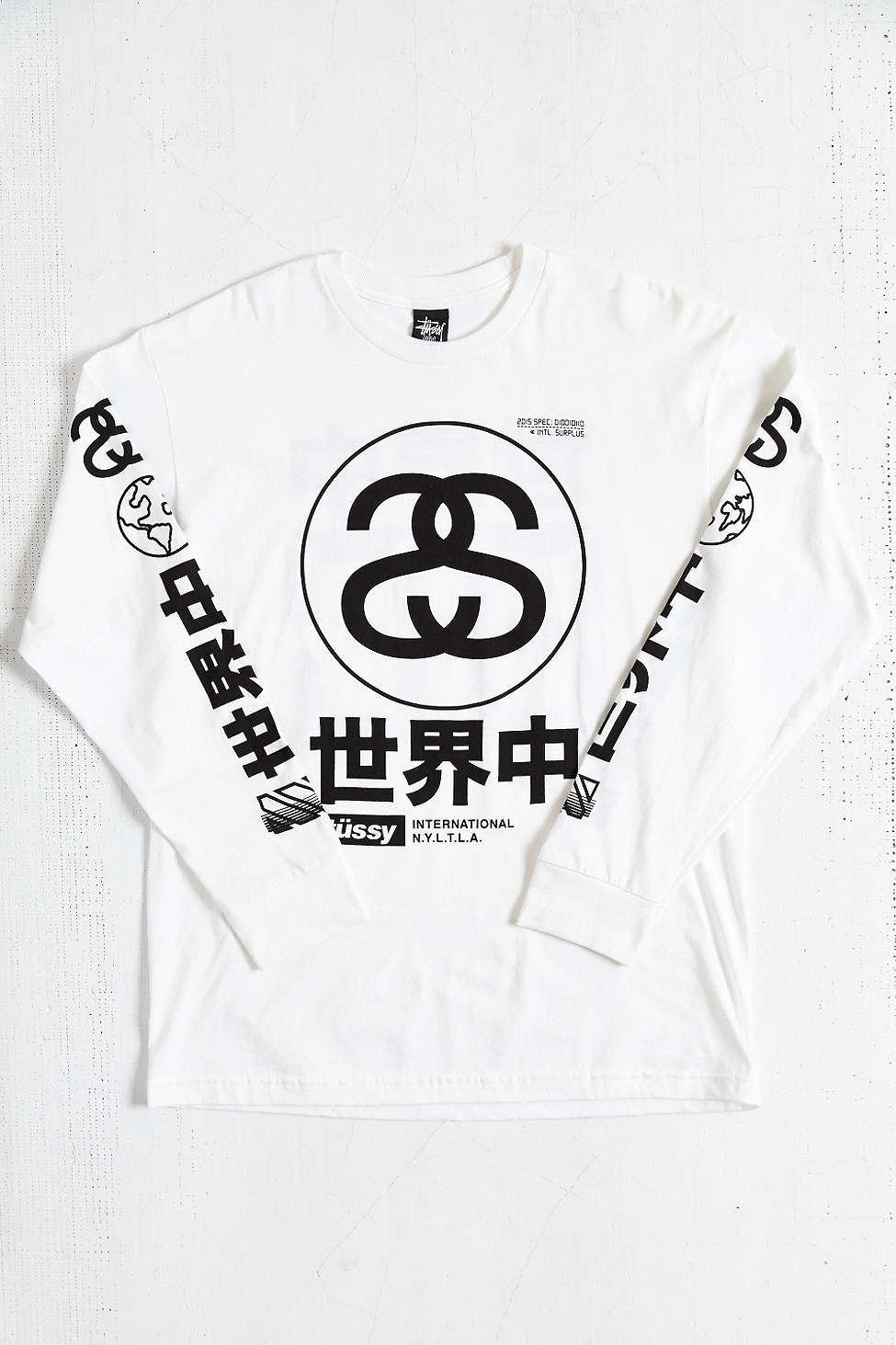 Stussy Japan International Long-Sleeve Tee