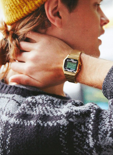 Timex Gold Watch Time
