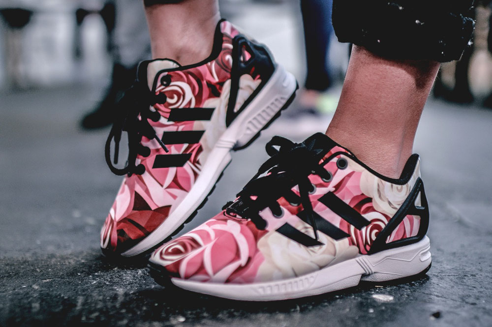 adidas originals rose mi zx flux
