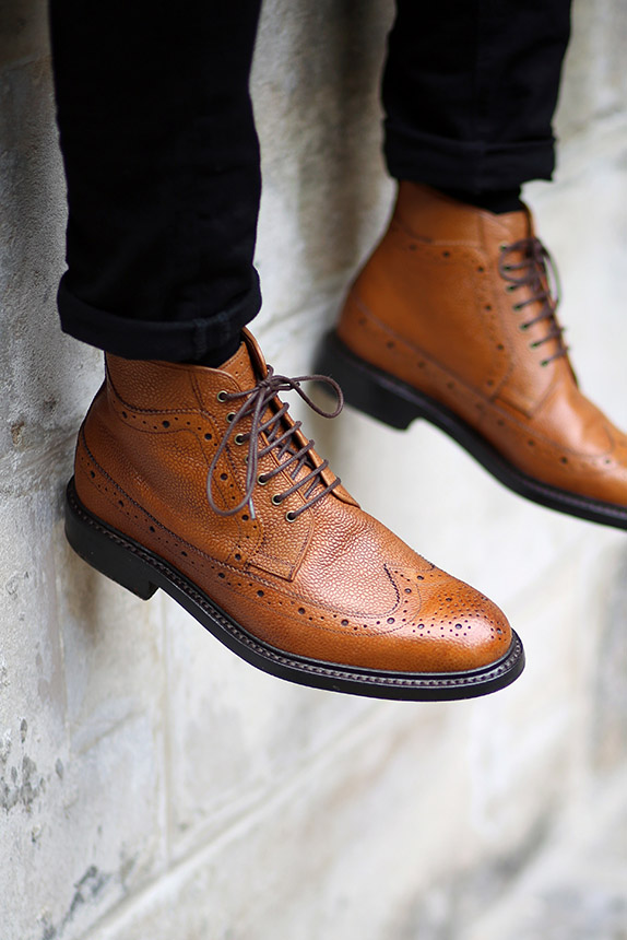 mens brown boots fashion