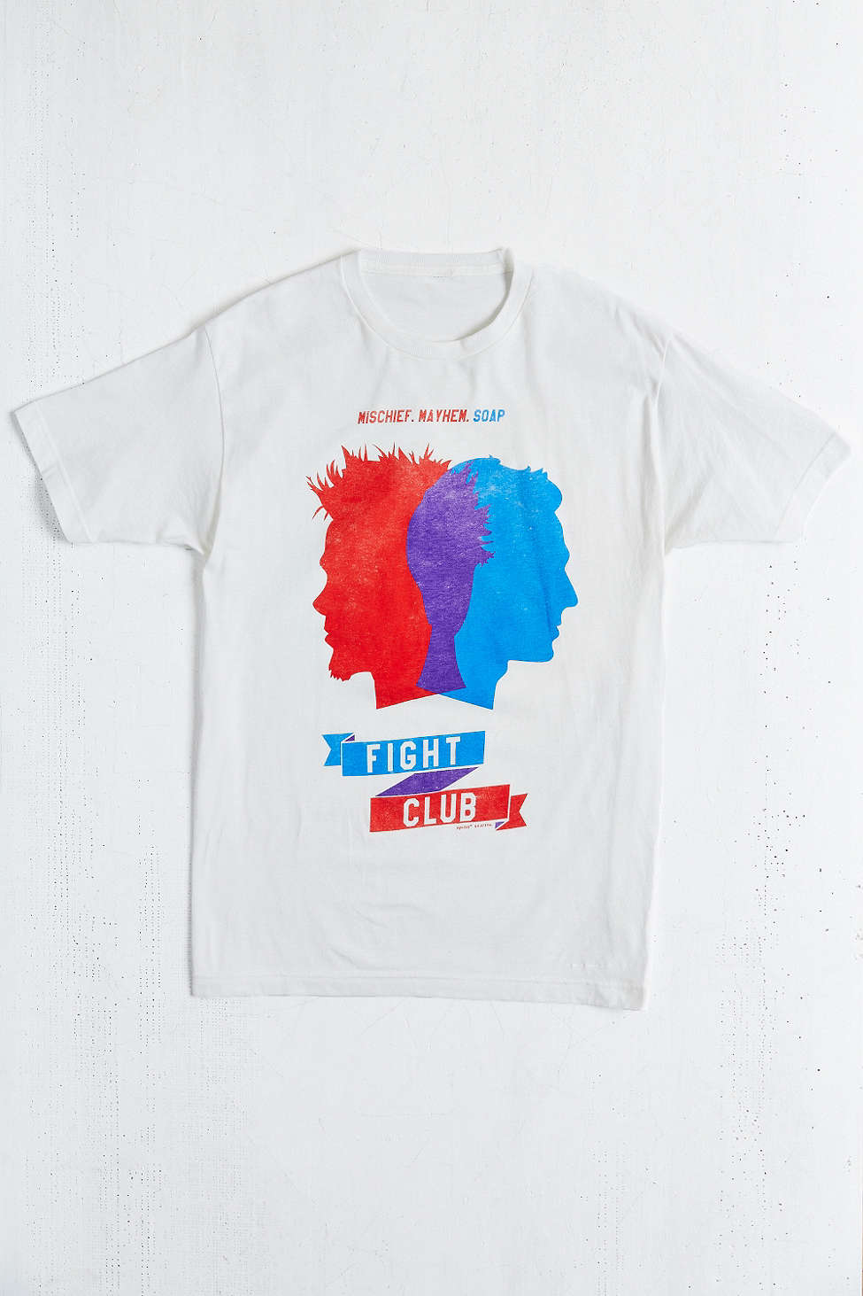 Fight Club: Mischief, Mayhem, Soap Tee