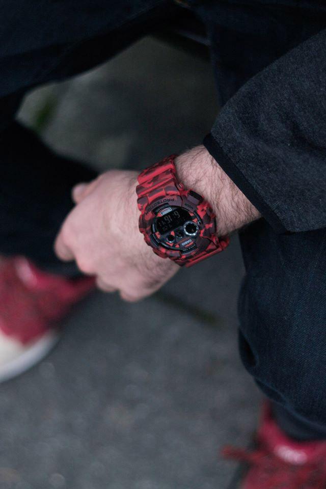 G-Shock Camo