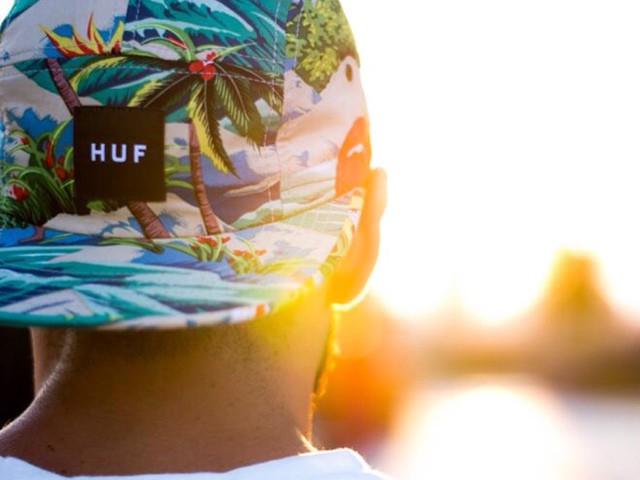 Huf Palm Leaf Cap