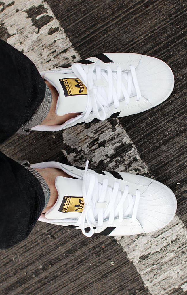 Women's Cheap Adidas Superstar 80s PK Black White Unboxing Video at