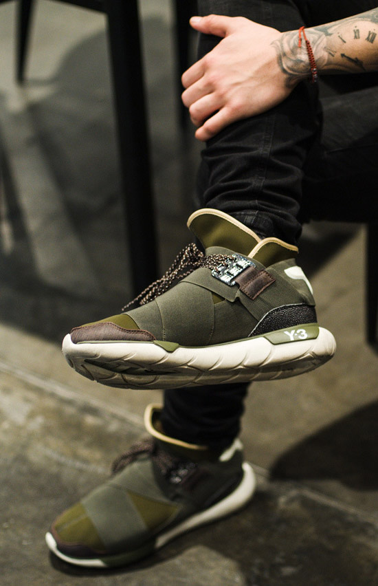 ADIDAS Y-3 Qasa High leg cross