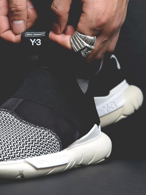 ADIDAS Y-3 Qasa Street Ready Sneakers