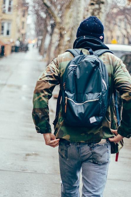 HERSCHEL SUPPLY CO. Nylon Backpack #streetstyle