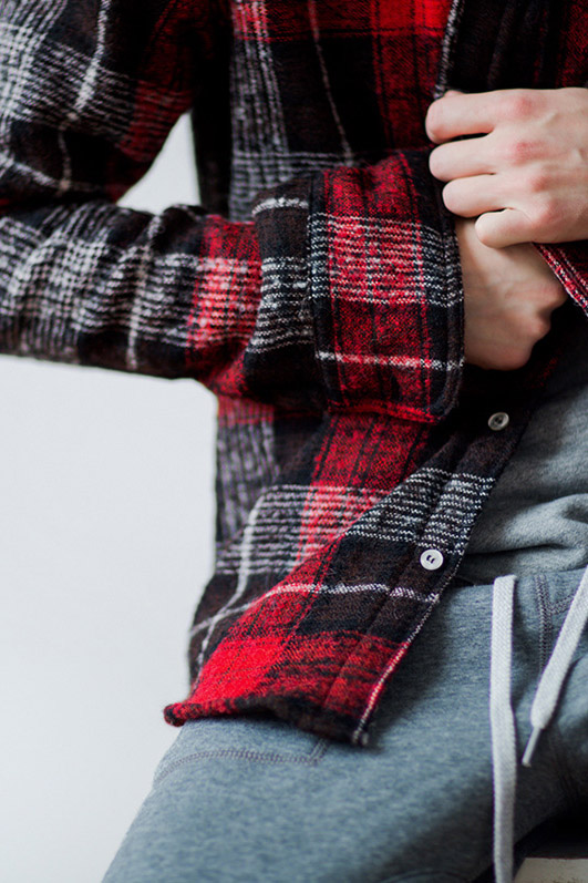 Nice Plaid by NEEDS&WANTS SS15 Collection