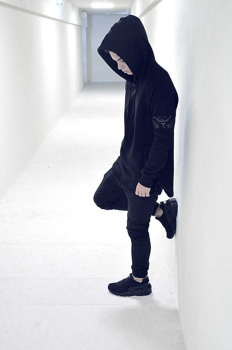 NIKE Air Huarache PA × Yield Hoodie #mensfashion #streetstyle