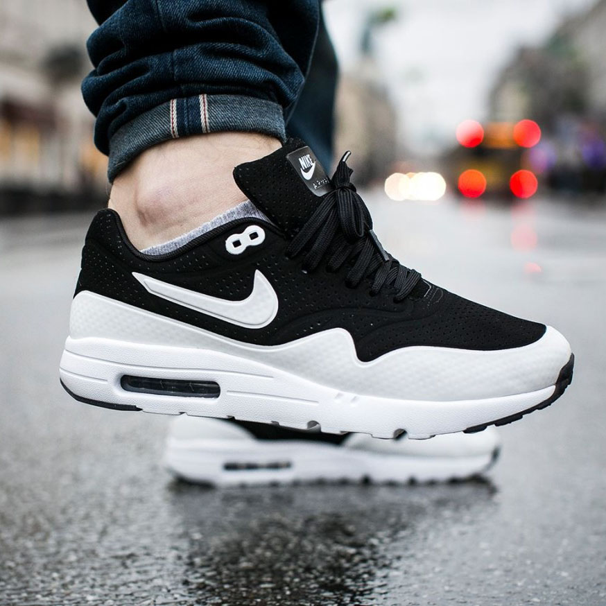 nike air max 1 ultra moire black grey soletopia. Black Bedroom Furniture Sets. Home Design Ideas