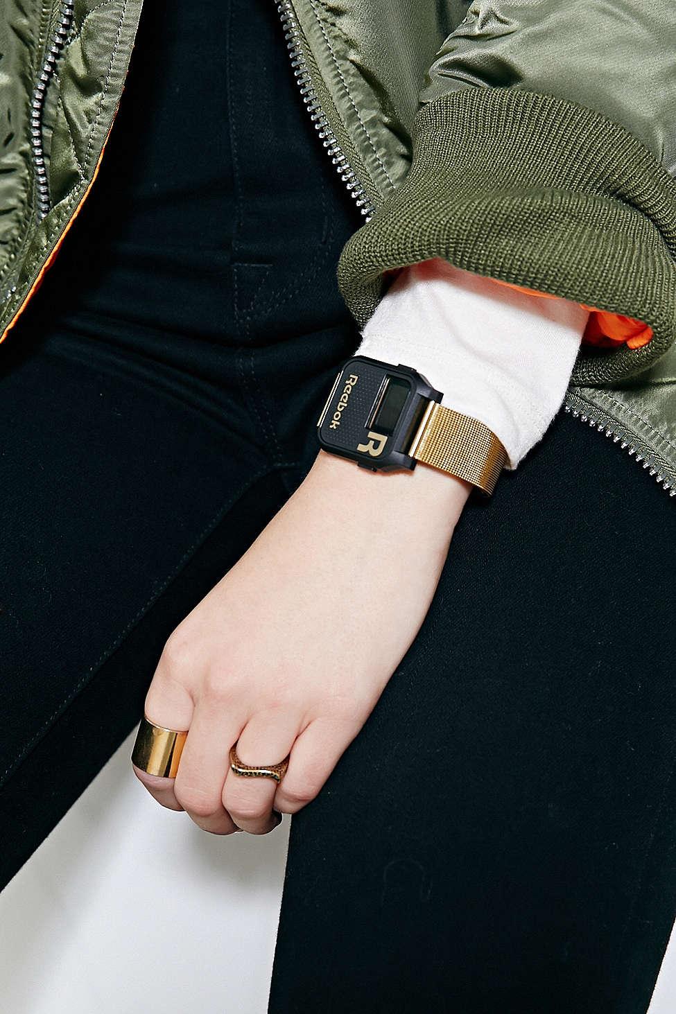 REEBOK Gold Vintage Nerd Watch