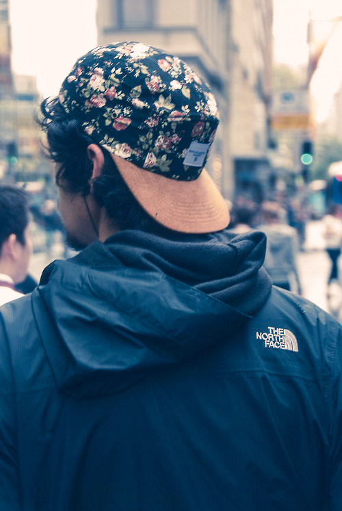THE NORTH FACE × Floral Snapback #streetstyle #menswear