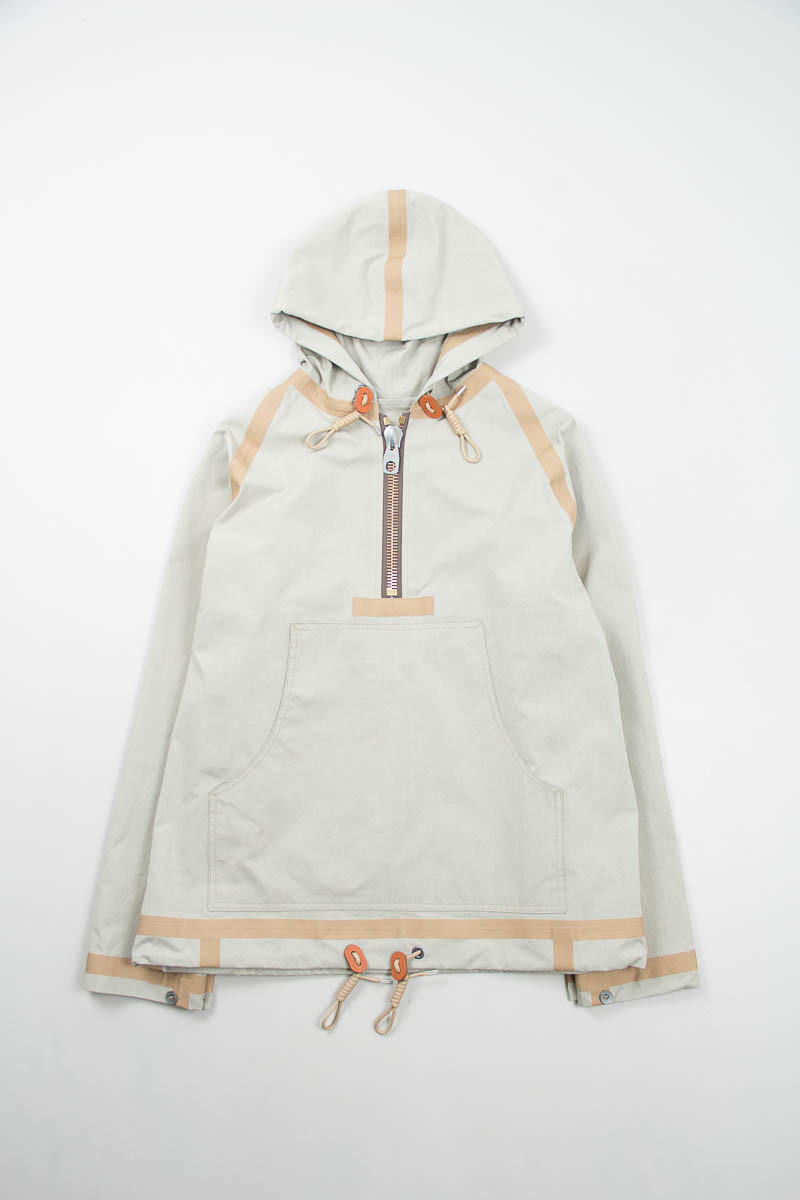 NIGEL CABOURN Beige Short Taped Smock