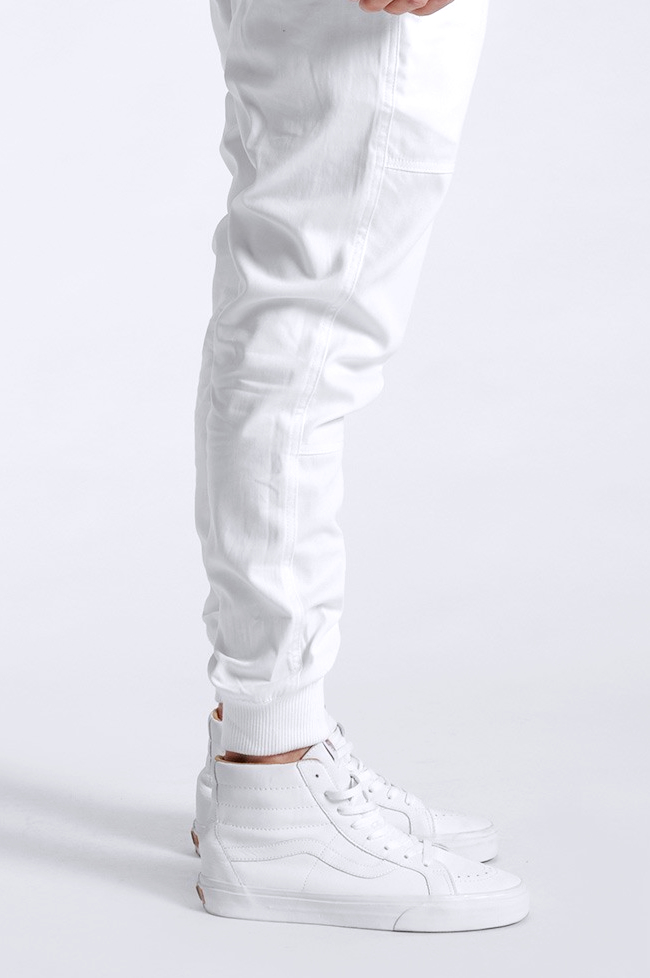 PUBLISH Legacy Jogger Pant in White