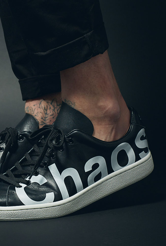 UNDERCOVER Chaos Balance Leather Sneaker
