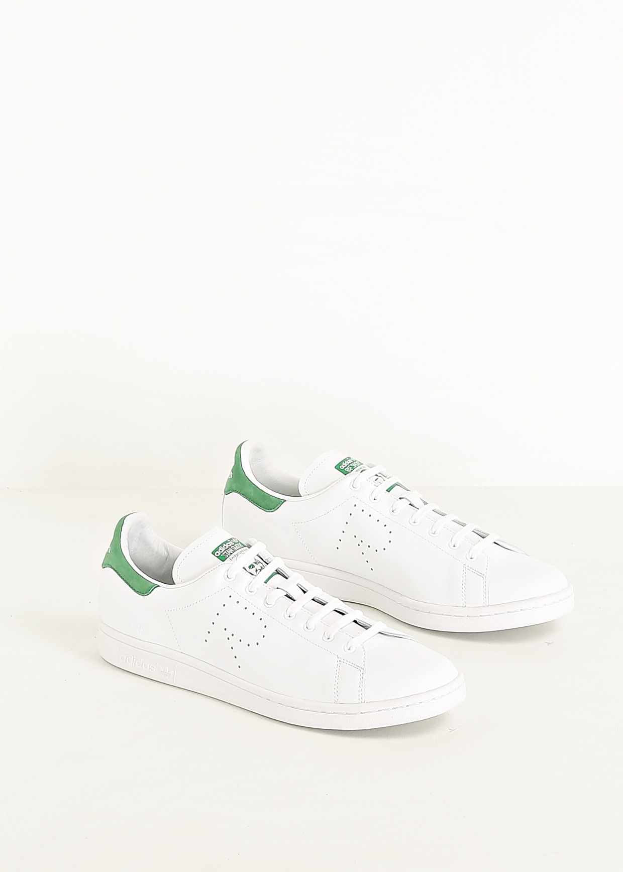 ADIDAS ORIGINALS × RAF SIMONS Stan Smith White #sneakers #fashion #rafsimons
