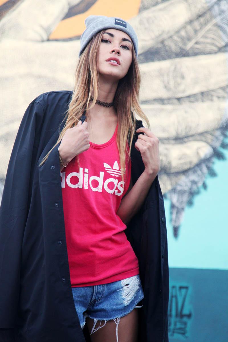 ADIDAS ORIGINALS WMNS Tank #anatanaka #adidasoriginals #womenstyle #streetfashion