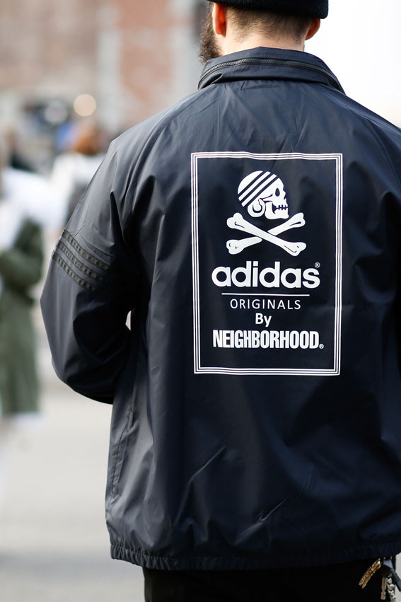 ADIDAS ORIGINALS × NEIGHBORHOOD Windbreaker