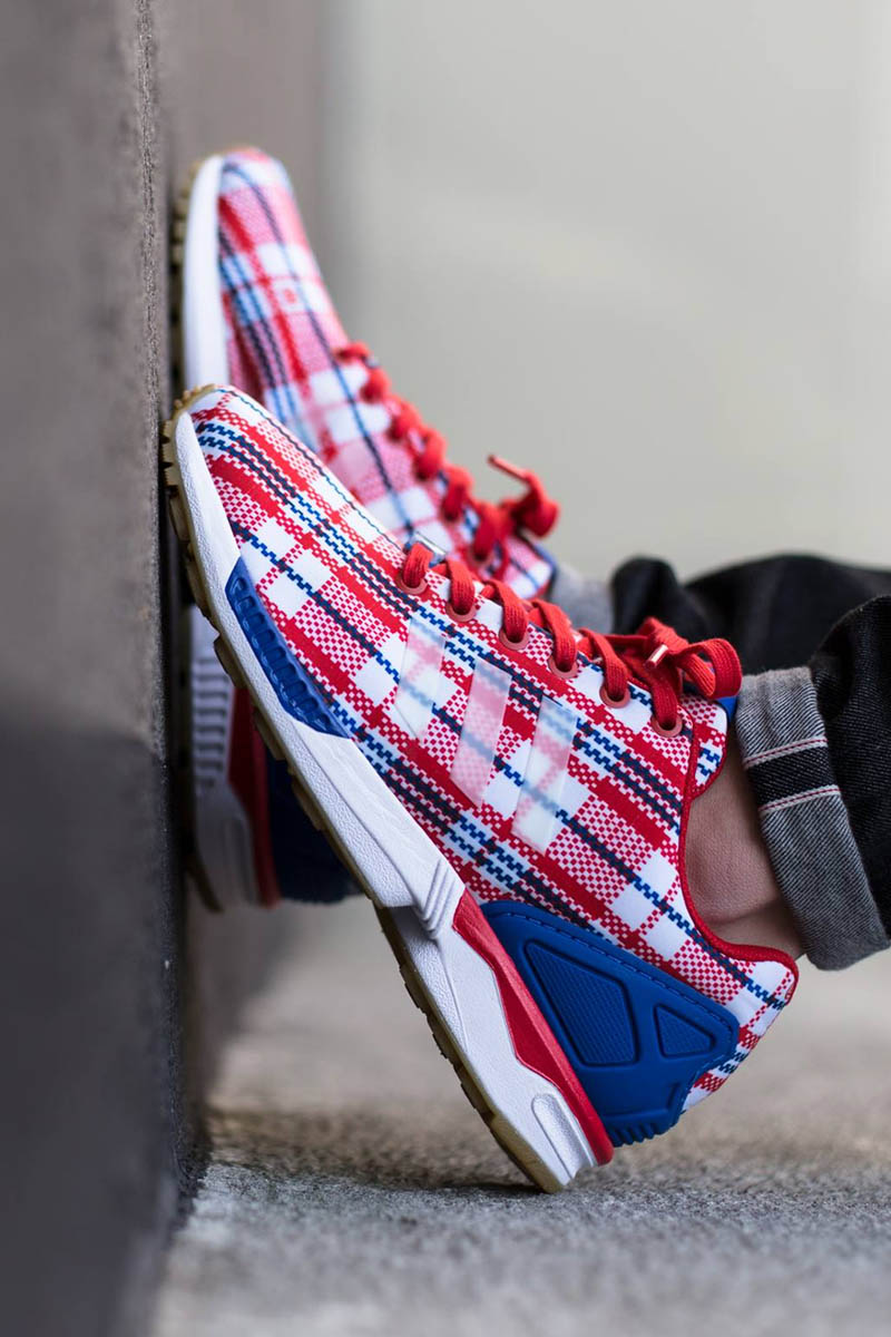 Dope pattern #adidas #clot #sneakers #plaid #madras