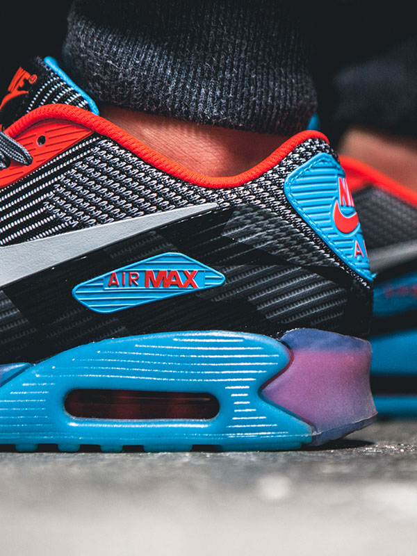 Femmes Nike Air Max 90 Ice - Air Max 90 Knit Jacquard Ice Nikes Réduction Pas Cher