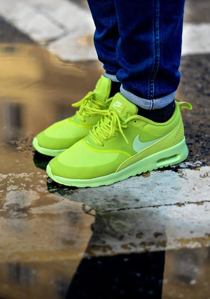 air max thea lime green