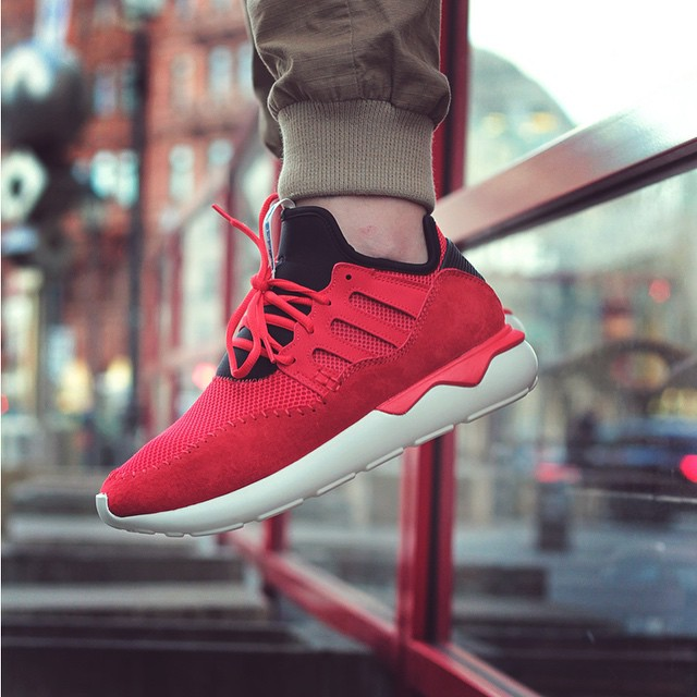 Adidas Tubular Moc Runner Red