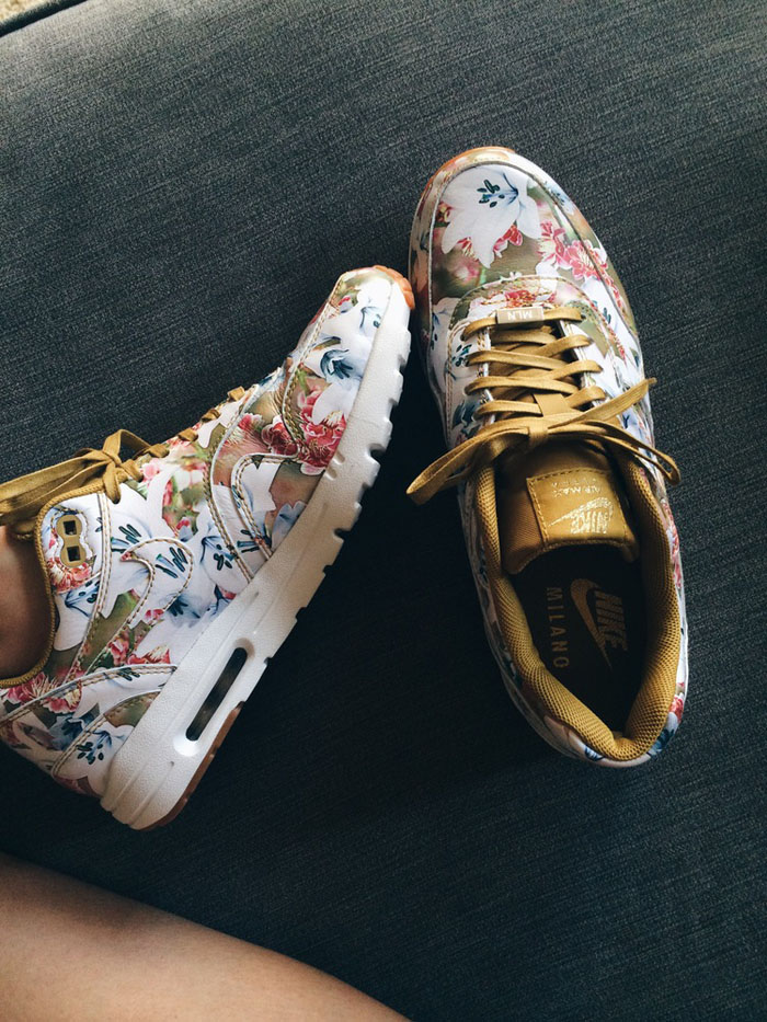 Floral #airmax #sneakers #womenstyle