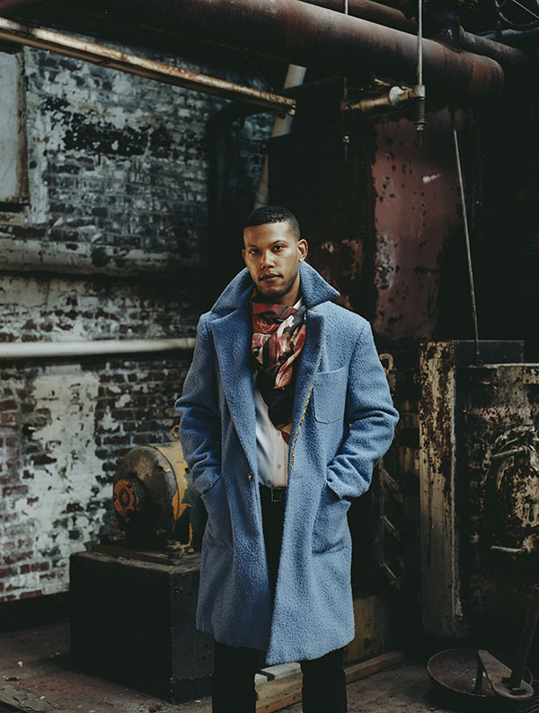 Overcoat game on point. #ikirejones #menswear #fashion #style #lookbook