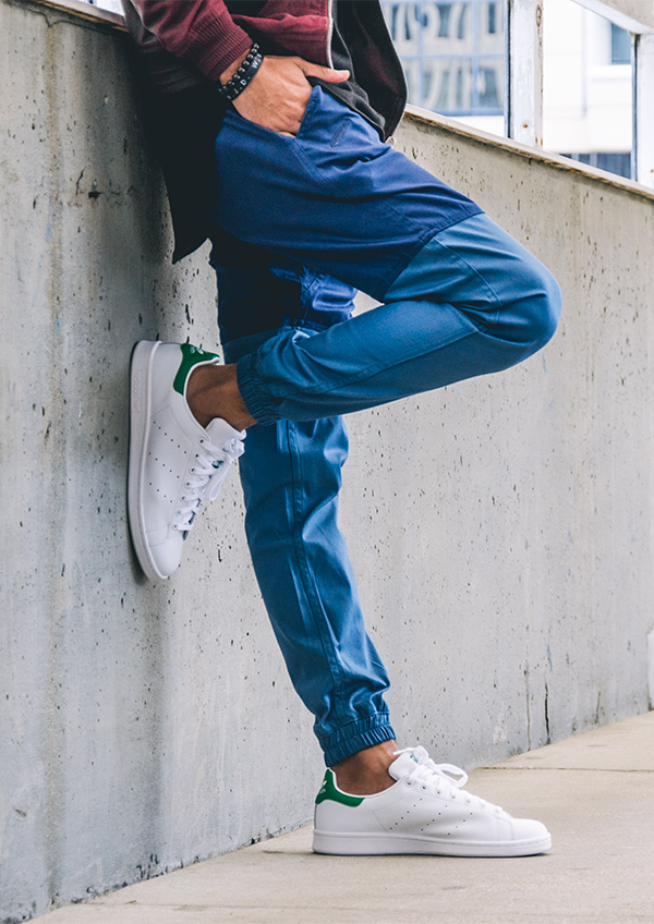Publish & Stan Smith's #streetwear #pants #adidas #streetstyle