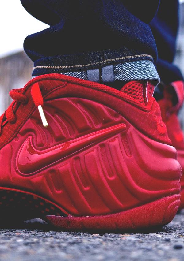 Nike Air Foamposite #red #sneakers #kicks #fashion