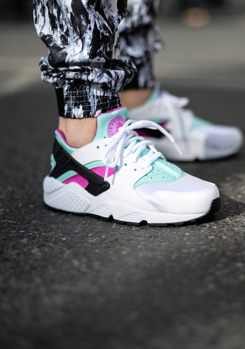 For women. #nike #huarache #sneakerfashion #womenstyle