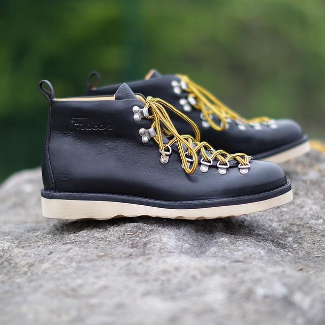 Handmade #fracap #hikingboots #outdoors #hiking #boots #menswear