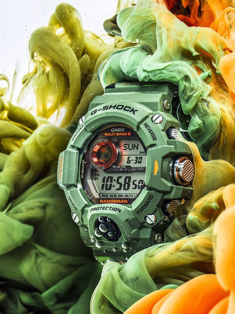 G-SHOCK: Men in Camo collection #gshock #rangeman #camo #style