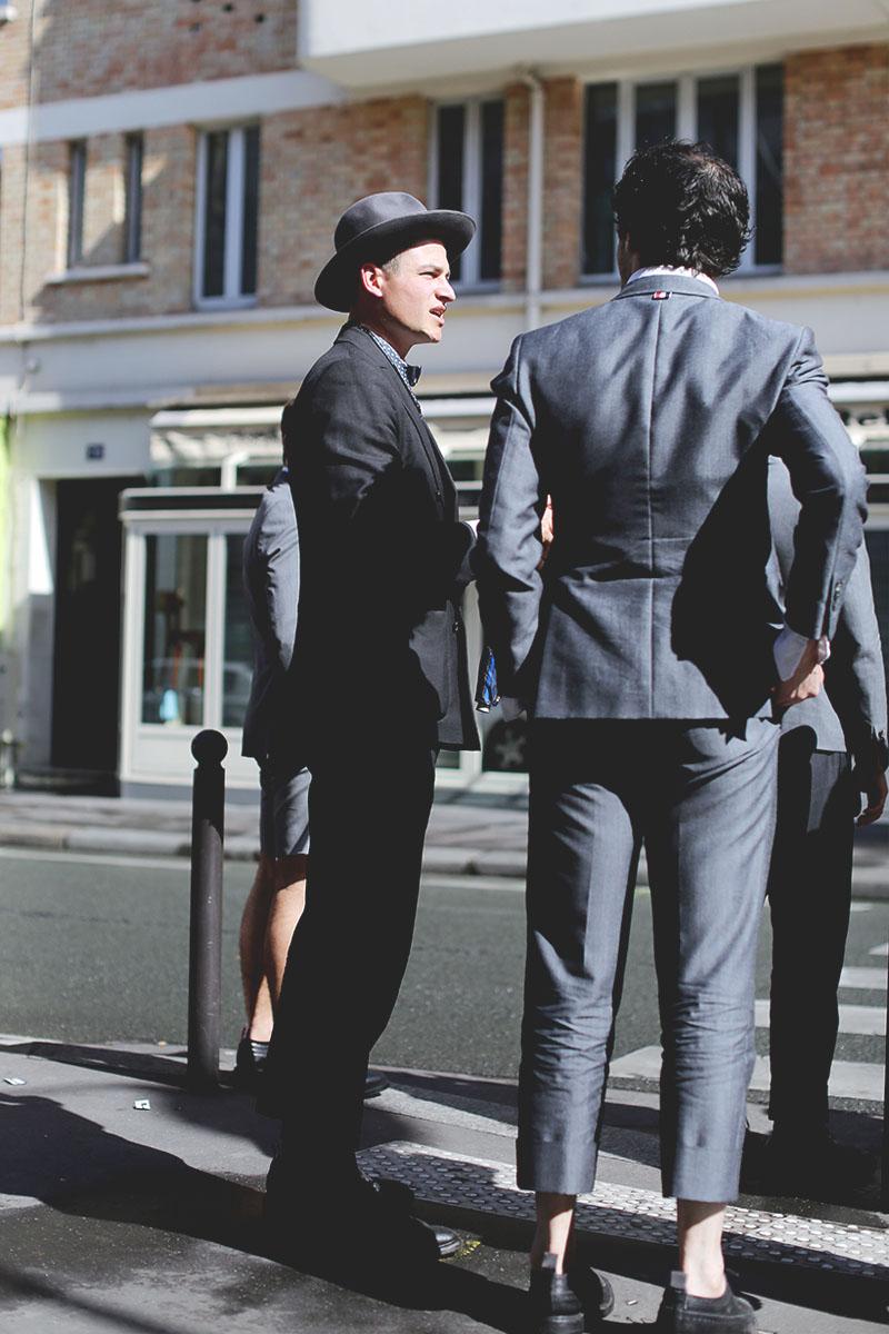 Suits. #streetstyle #menswear #fashion #streetfashion #thombrowne