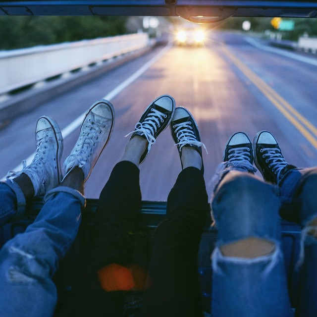 Roadtrippin' #converse #chucks #allstar #sneakers #fashion #roadtrip