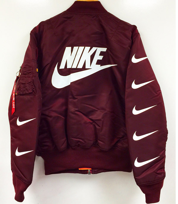 Nike Blouson Rouge Mens