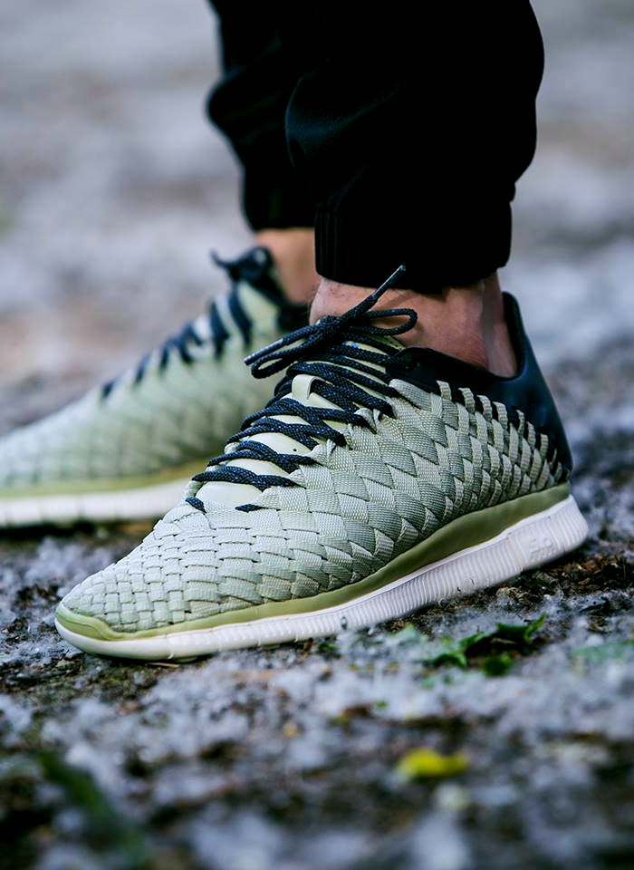 Woven light stone #nike #nikefree #nikeinneva #sneakers #trainers #woven