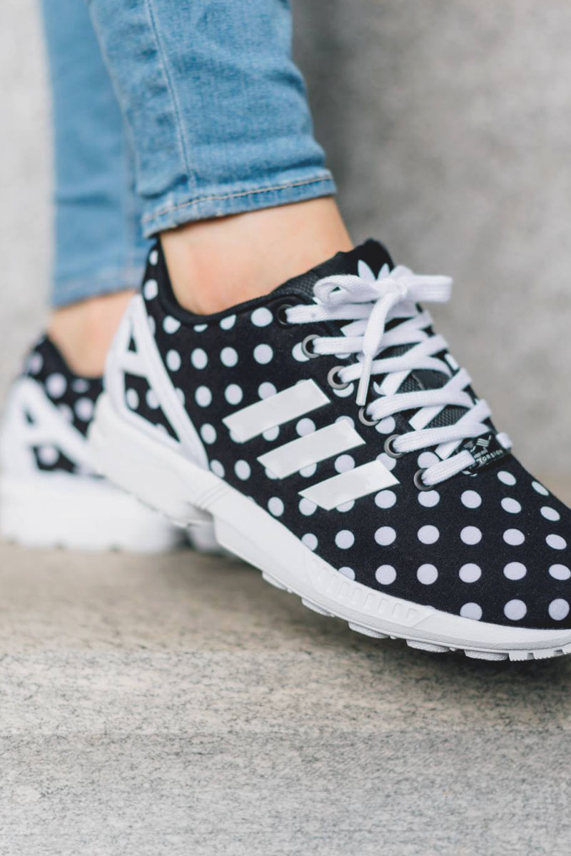 Stripes & dots #adidas #sneakers #girls