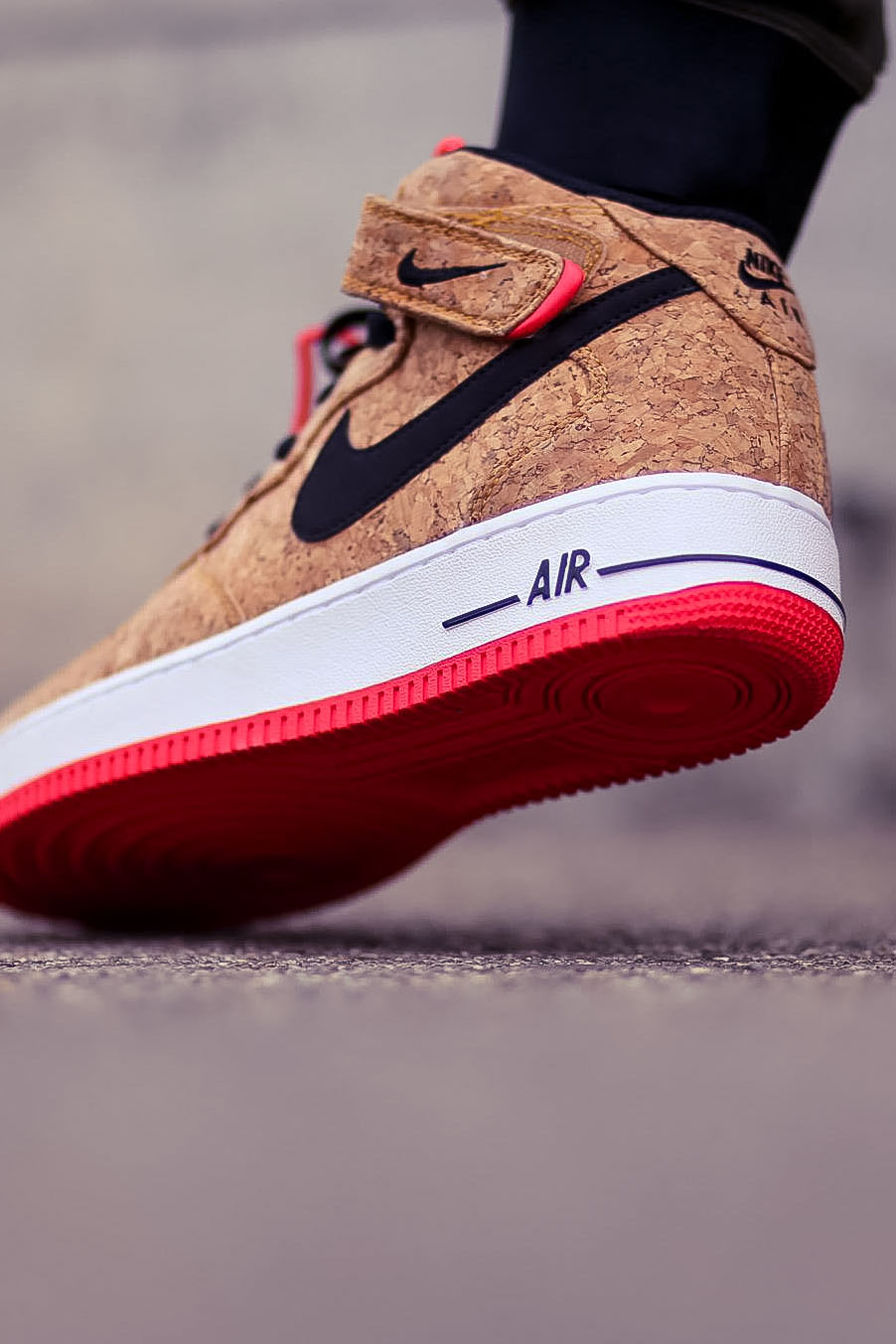 Nike Air Force 1 Mid Cork Sole Shot Soletopia
