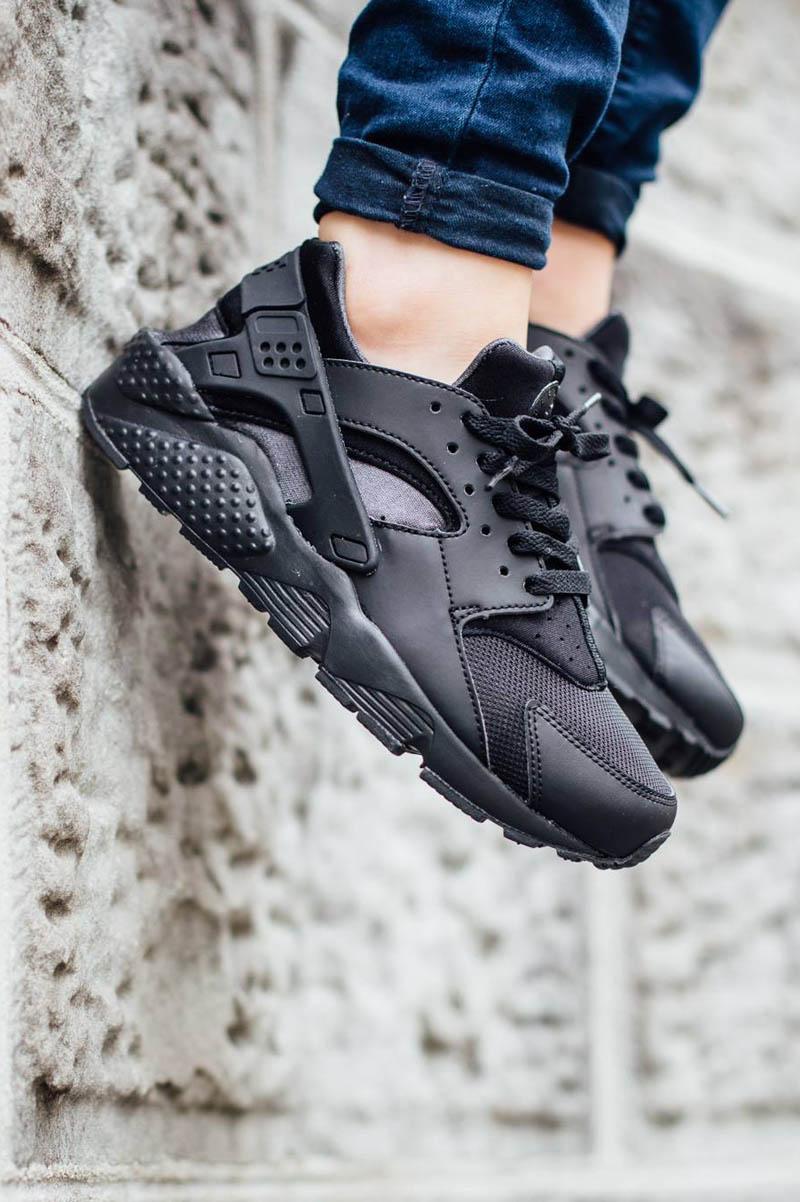 NIKE Huarache Run GS Black Anthracite