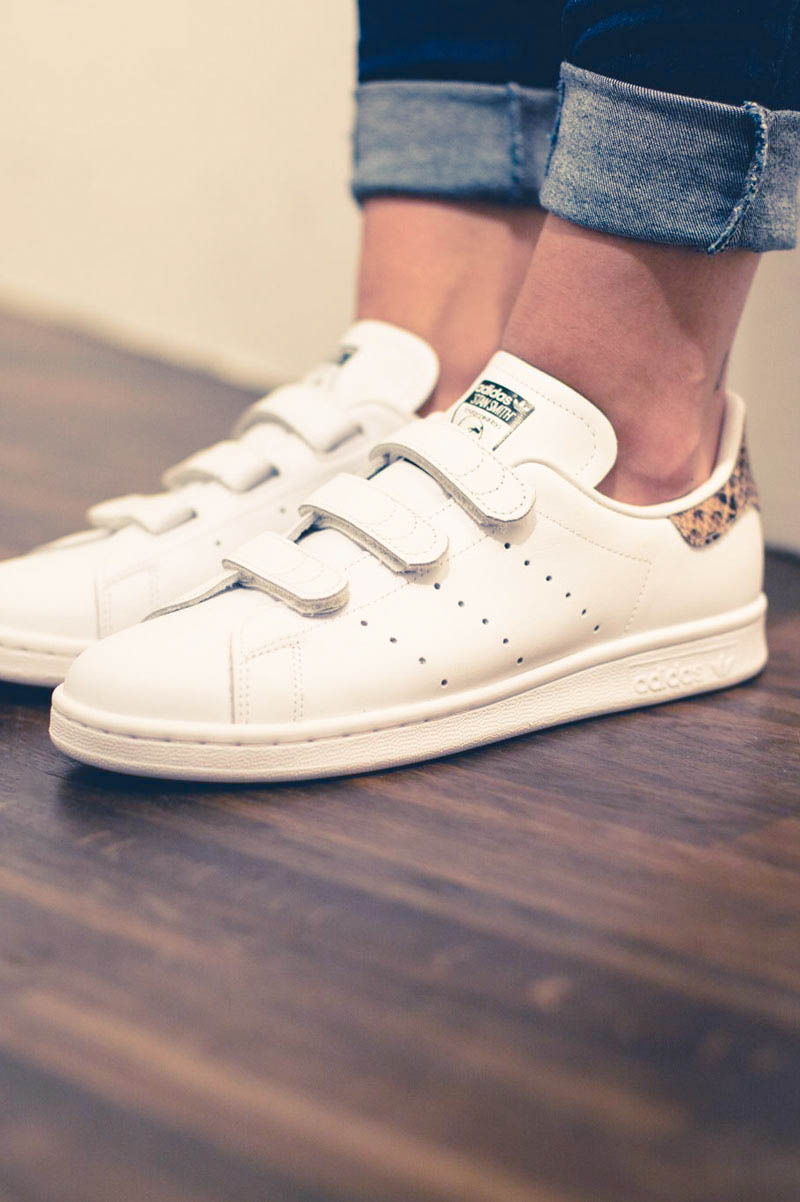 Velcro × Snake #stansmith #adidas #sneakers