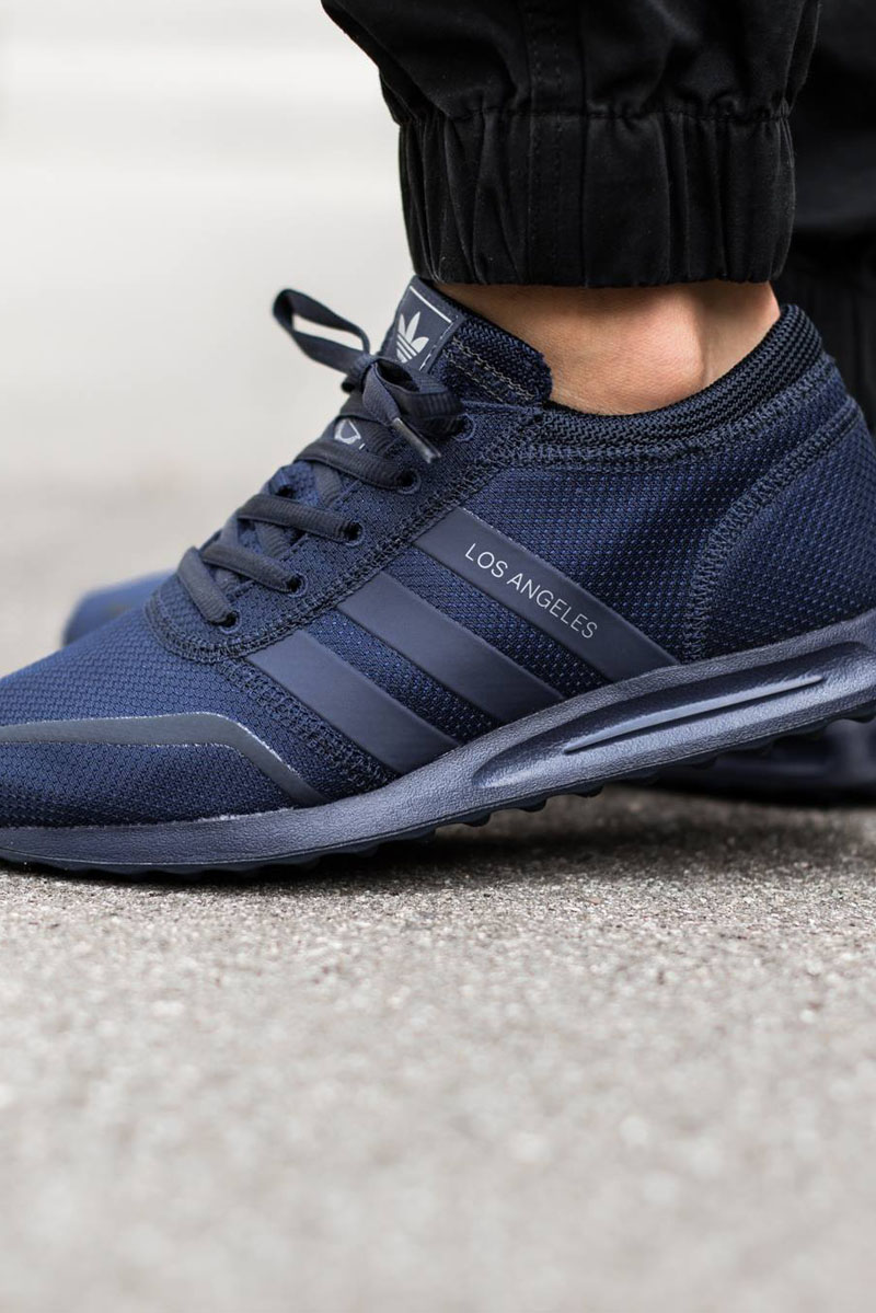 Adidas Los Angeles Weiß Blau buc it