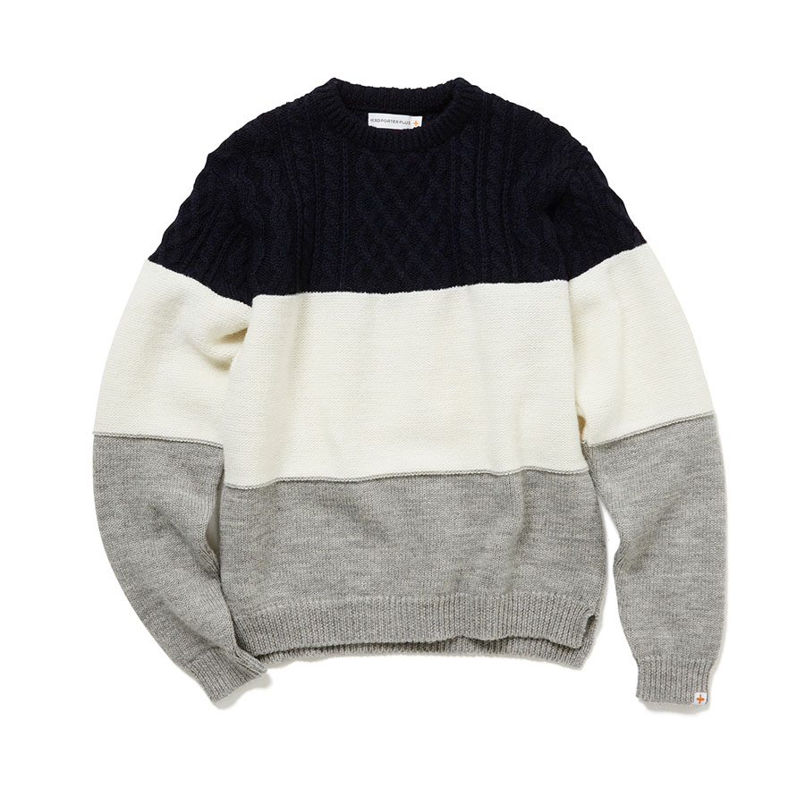 Multi Border Knit #menswear