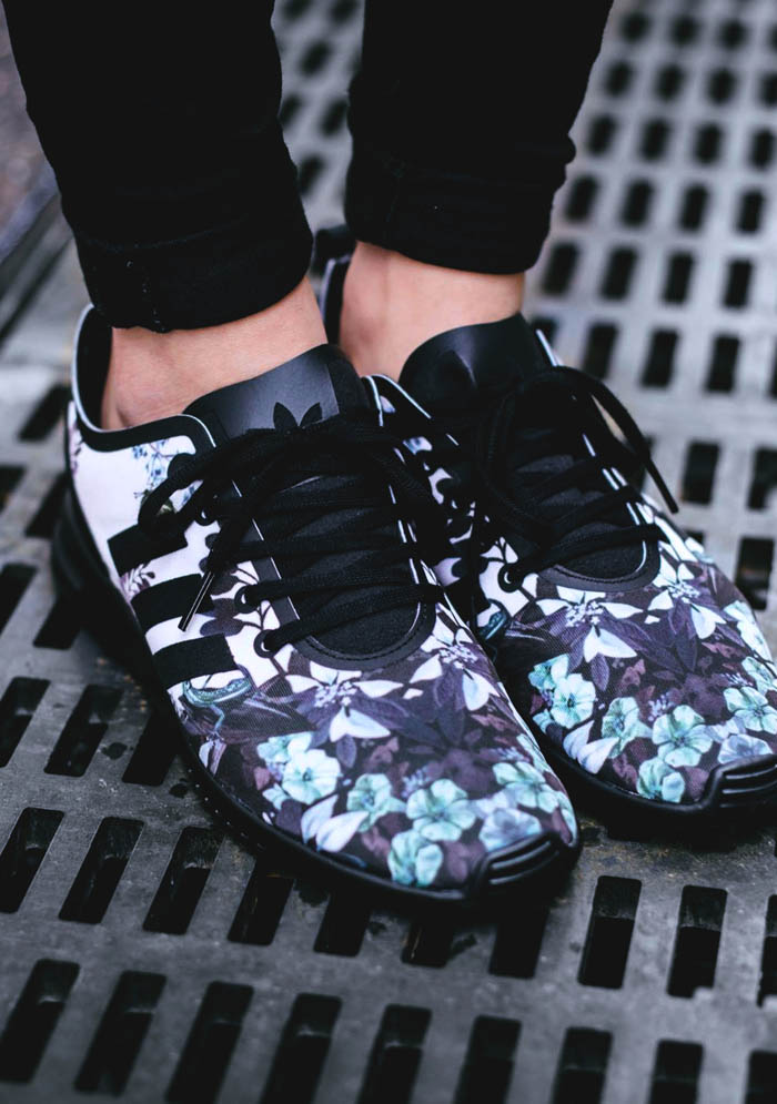 adidas zx flux floral kopen