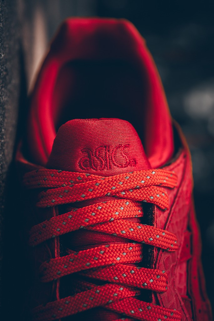 asics gel lyte v red mamba for sale