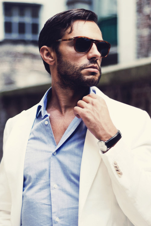 Cream suit #menswear