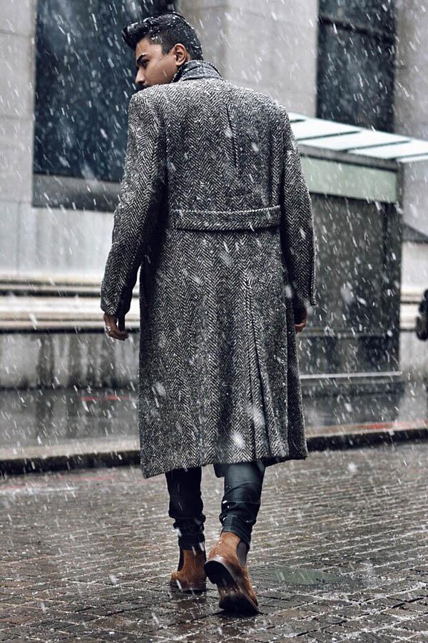 Snow coat.