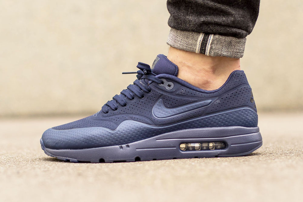 purchase cheap 7c4cf 18e1c NIKE Air Max 1 Ultra Moire Midnight Navy. September 15, 2015. Post may  contain sponsored links. Moire